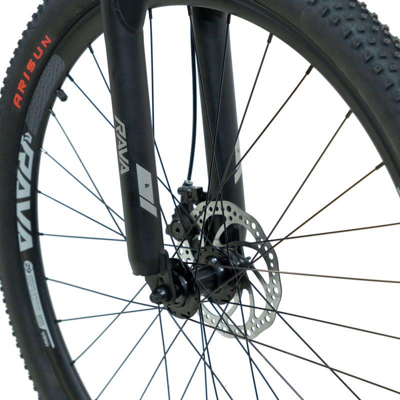 Bicicleta Rava Pressure Aro 29 21V - Preto e Azul
