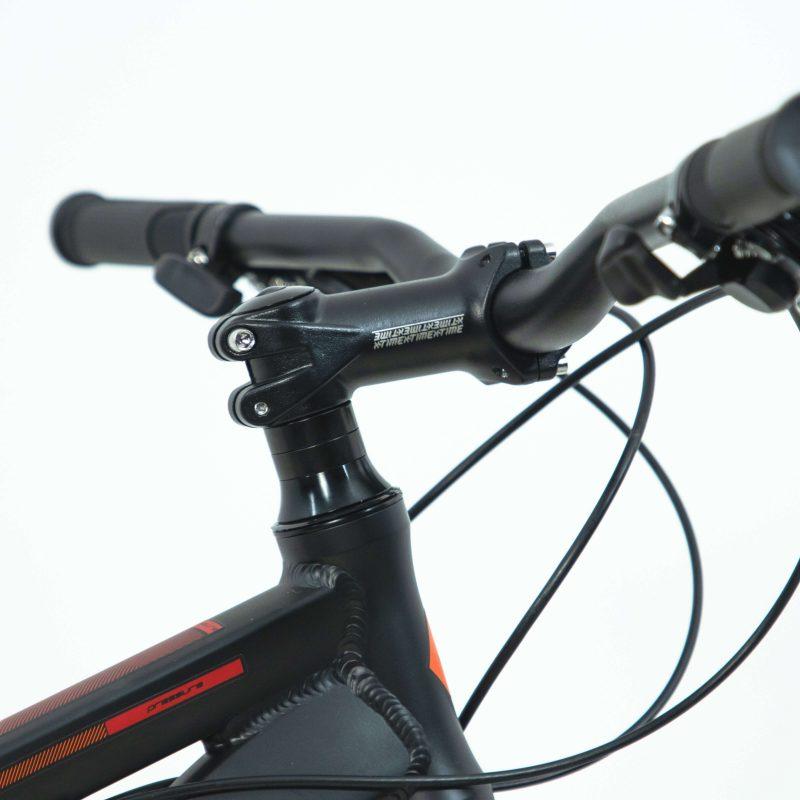 Bicicleta Rava Pressure Aro 29 21V - Preto e Laranja
