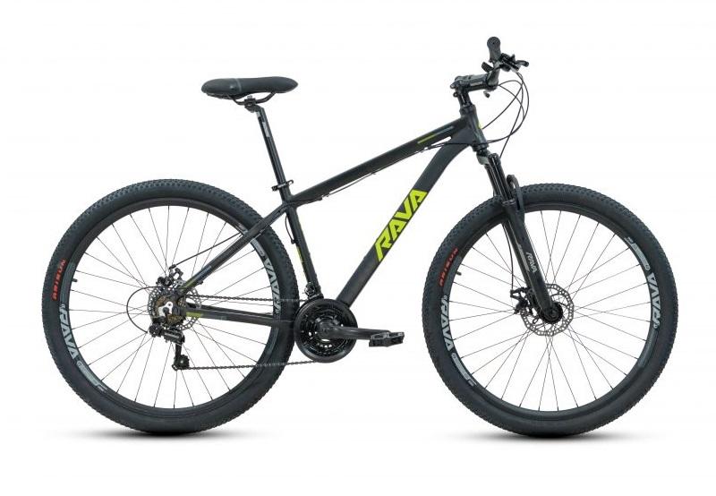 Bicicleta Rava Pressure Aro 29 21V - Preto e Verde
