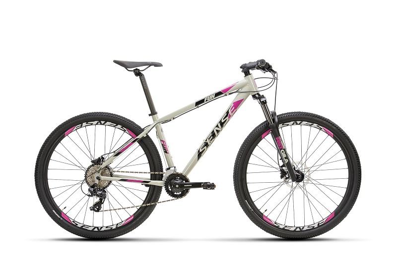 Bicicleta Sense Fun Comp Aro 29 16V - 2021/22 - Cinza e Roxo