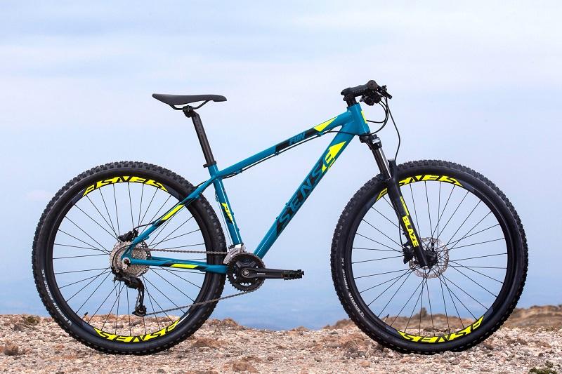 Bicicleta Sense Fun Evo Aro 29 18V - 2021/22 - Azul e Amarelo