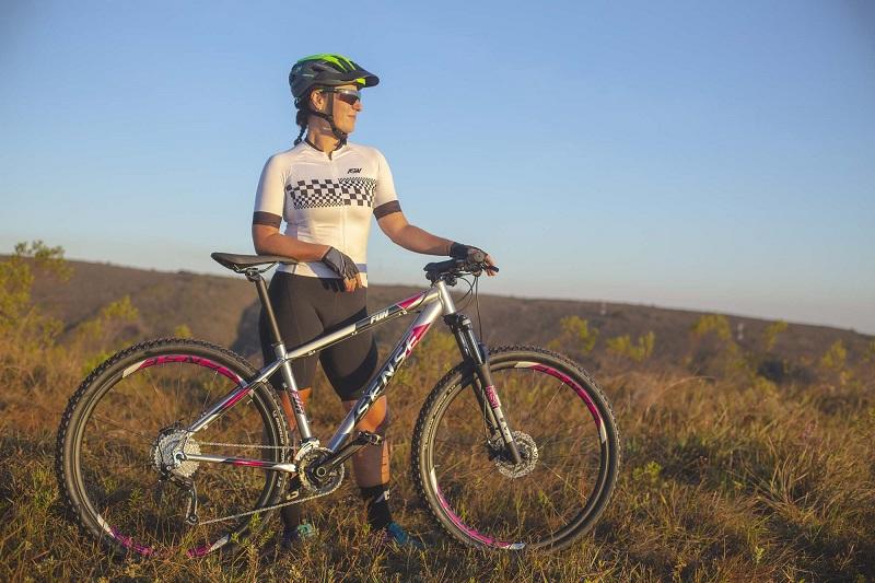Bicicleta Sense Fun Evo Aro 29 18V - 2021/22 - Prata e Roxo