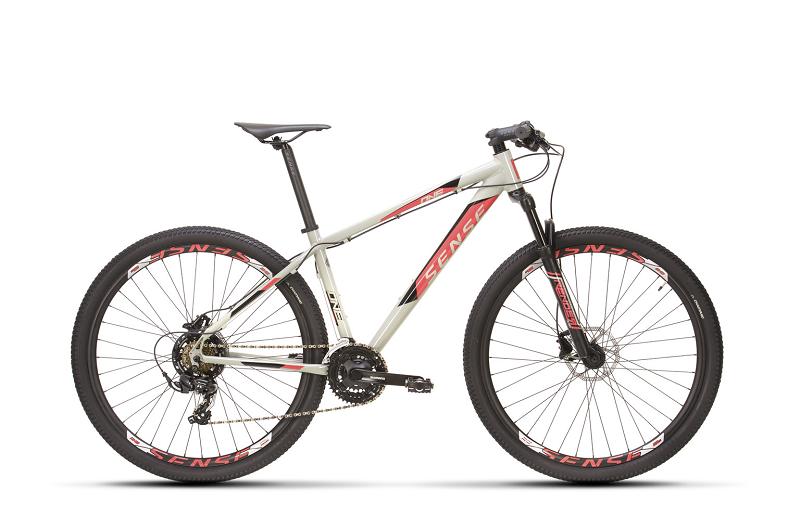 Bicicleta Sense One Aro 29 21V - 2021/22 - Cinza e Rosa