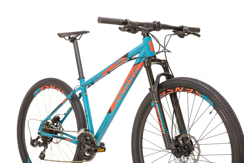 Bicicleta Sense One Aro 29 21V - 2021/22 - Azul e Laranja