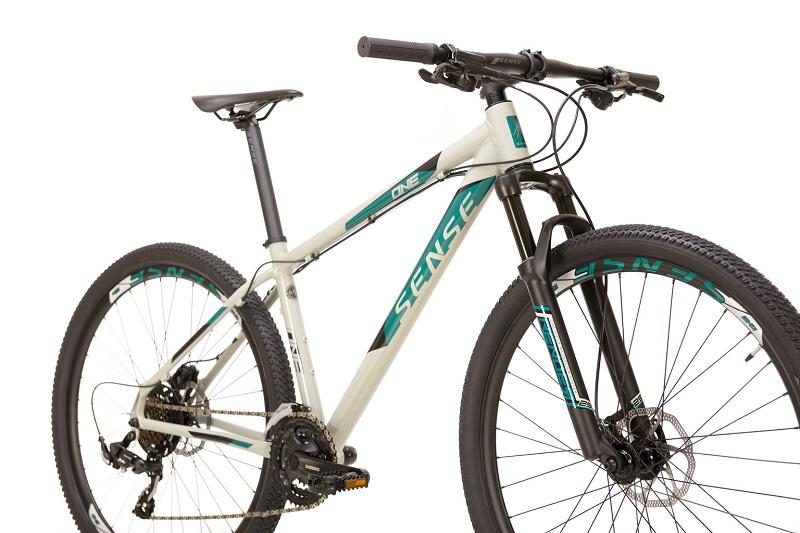 Bicicleta Sense One Aro 29 21V - 2021/22 - Cinza e Azul