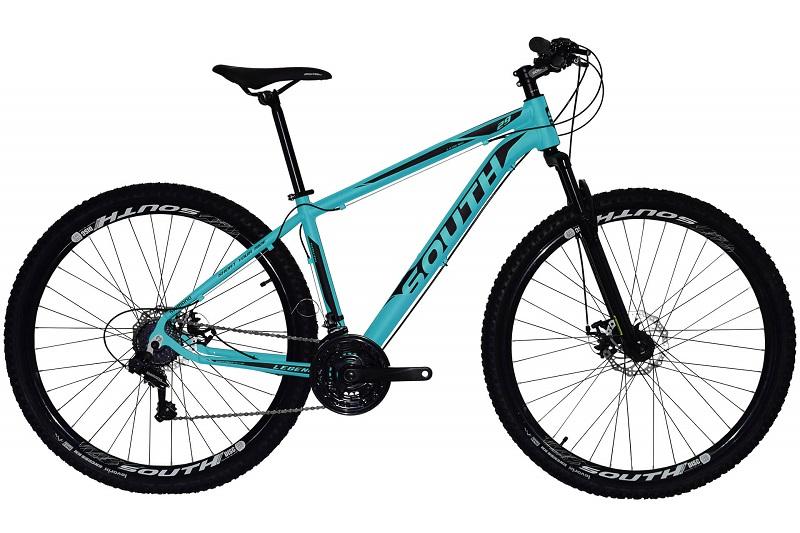 Bicicleta South Legend Aro 29 21V - Azul Turquesa