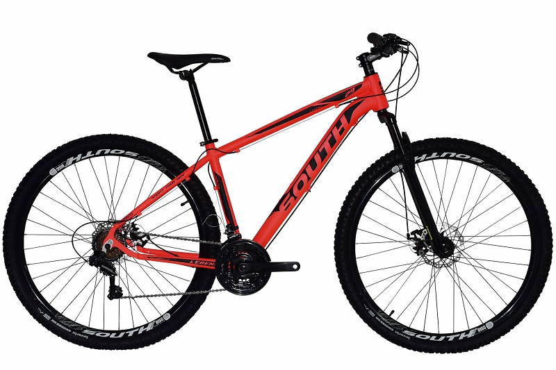 Bicicleta South Legend Aro 29 21V - Vermelha