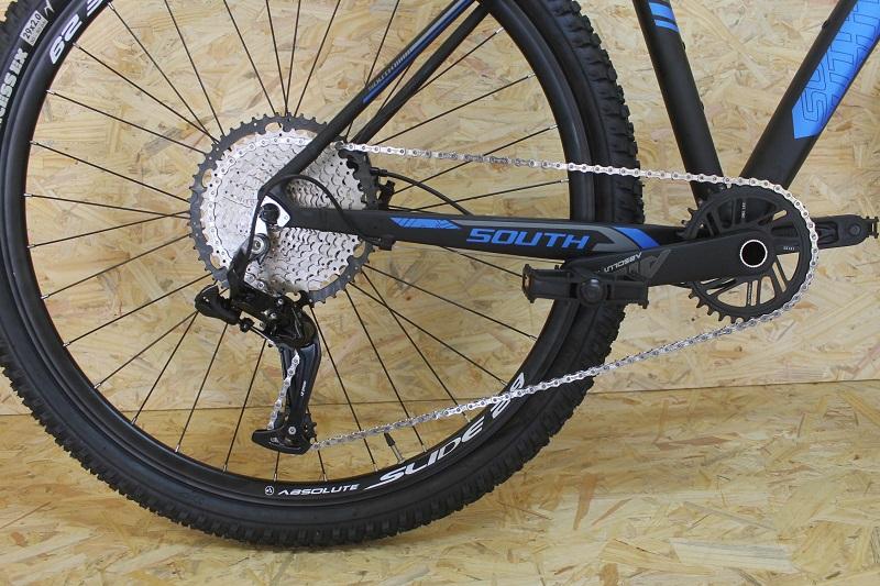 Bicicleta South XC880 Aro 29 12V - Preta e Azul