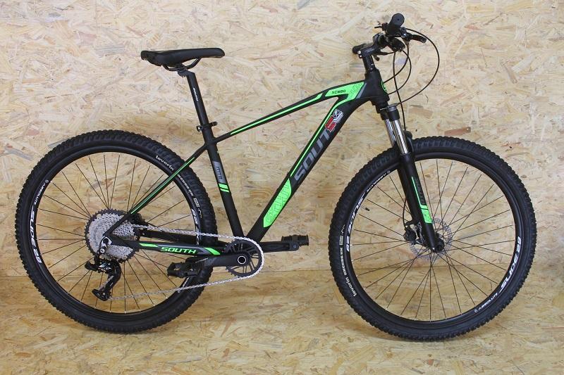 Bicicleta South XC880 Aro 29 12V - Preta e Verde