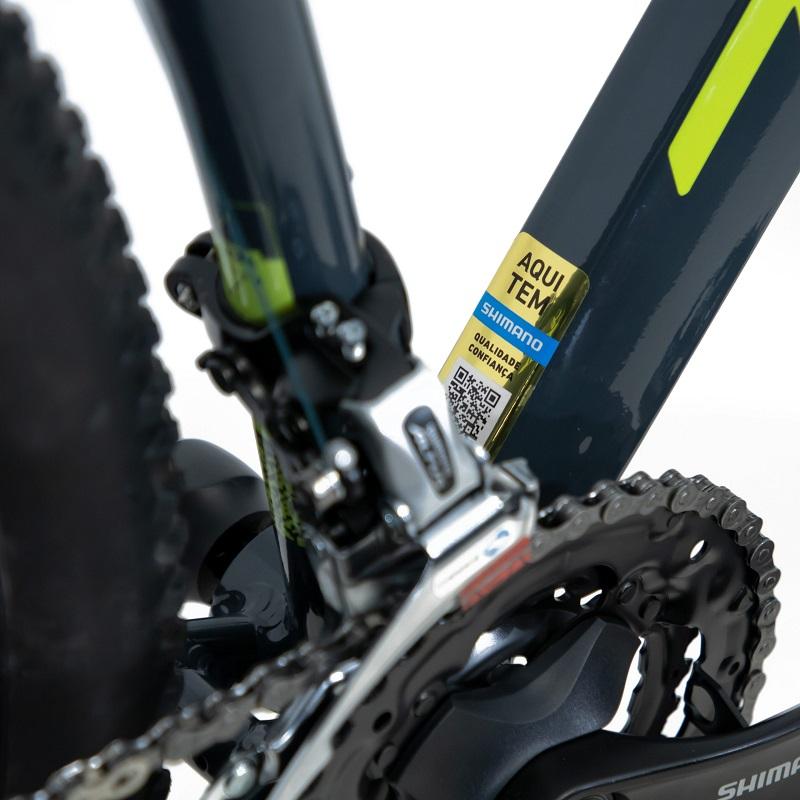 Bicicleta TSW Hunch Aro 29 24V - 2021 - Cinza e Verde