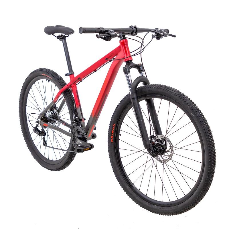 Bicicleta TSW Ride Aro 29 21V - Vermelho e Cinza