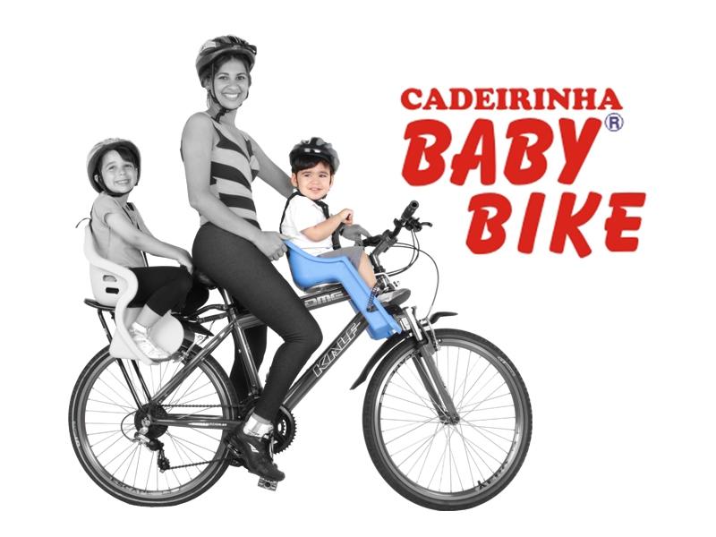 Cadeirinha Infantil Kalf Baby Bike Dianteira
