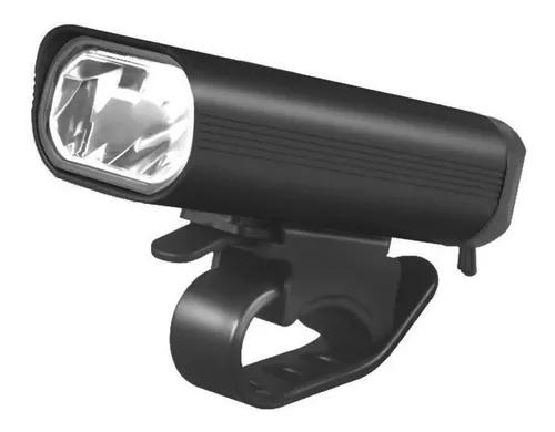 Farol Dianteiro Bing 400 Lumens com Usb - Preto