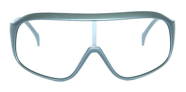 Óculos Absolute Nero Lentes Transparentes - Cinza