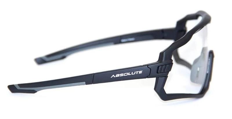 Óculos Absolute Wild Lentes Transparentes - Preto