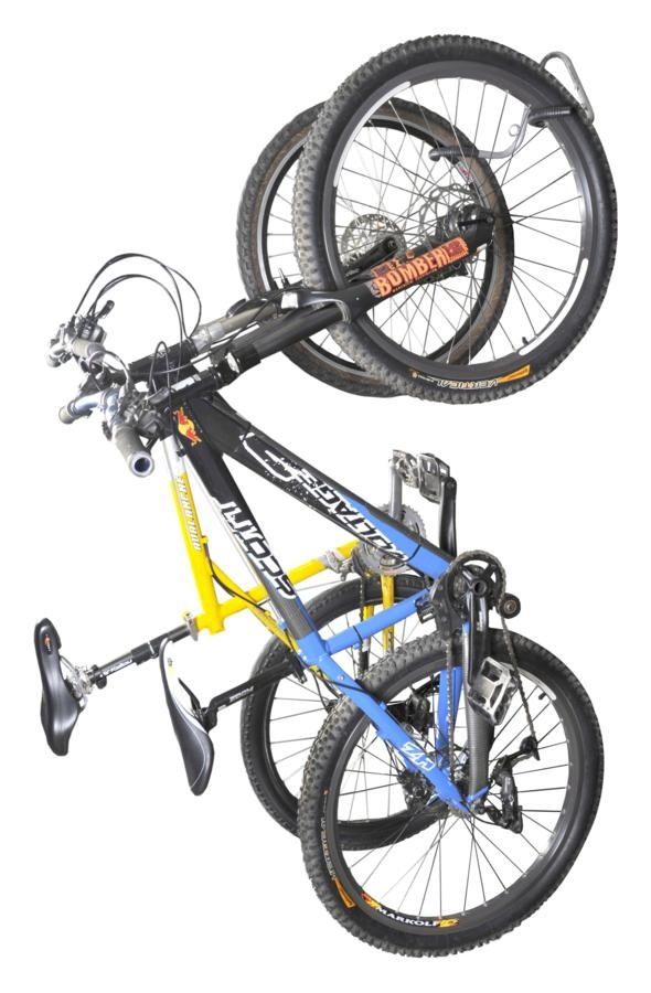 Suporte de parede vertical Altmayer AL70 - 2 bicicletas