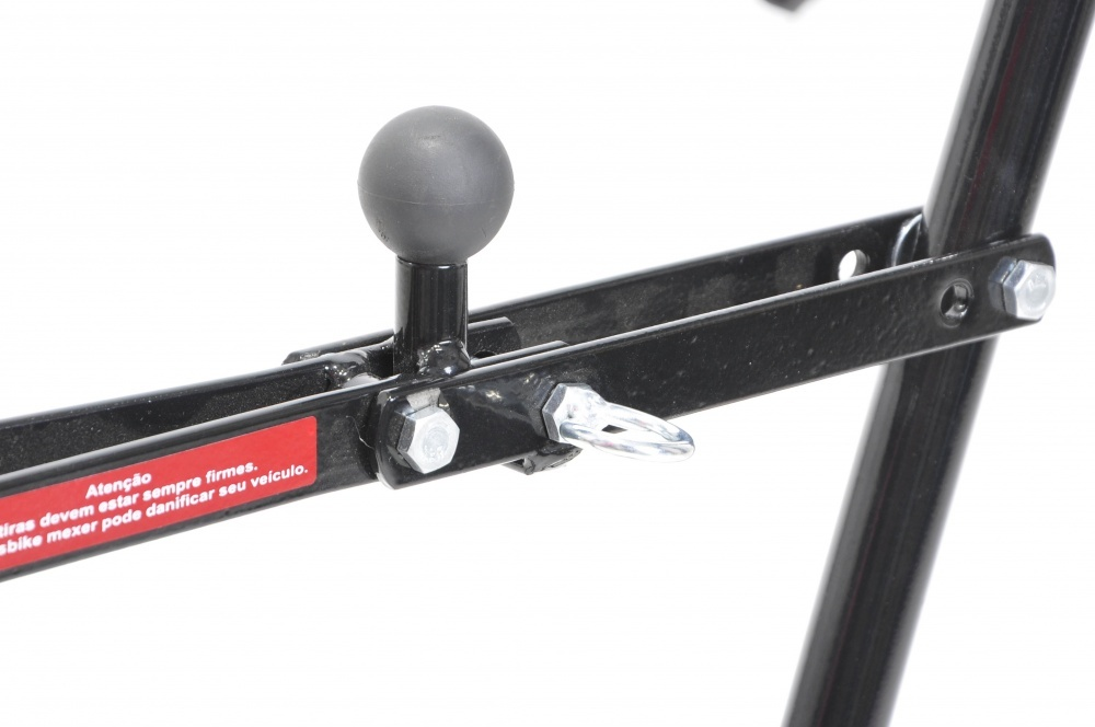 Transbike Altmayer AL164 para 3 bicicletas - Modelo bola de reboque