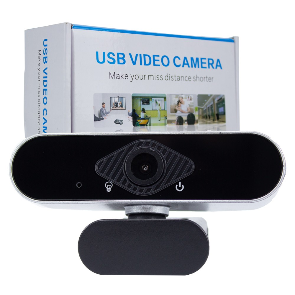 Webcam Full HD 1080p USB para Live Youtube Skype
