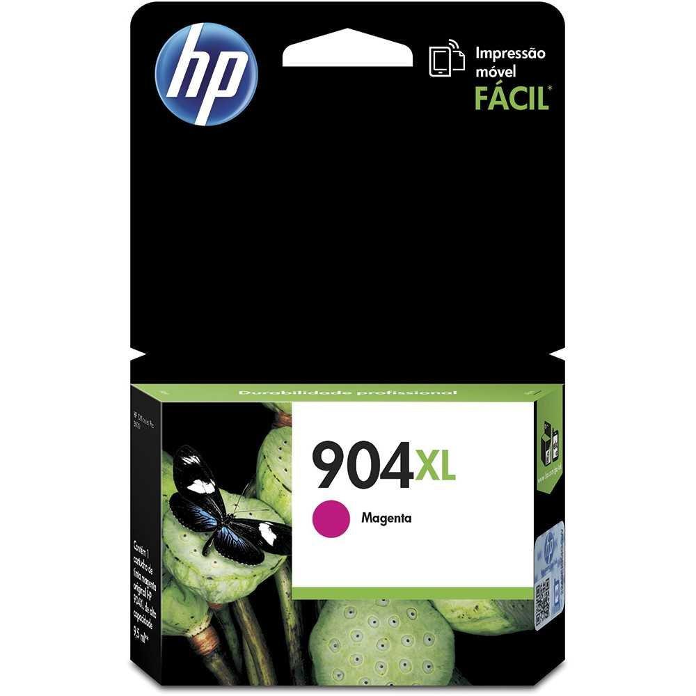 Kit Cartucho HP 904xl com 4 CMY BK originais para HP 6970