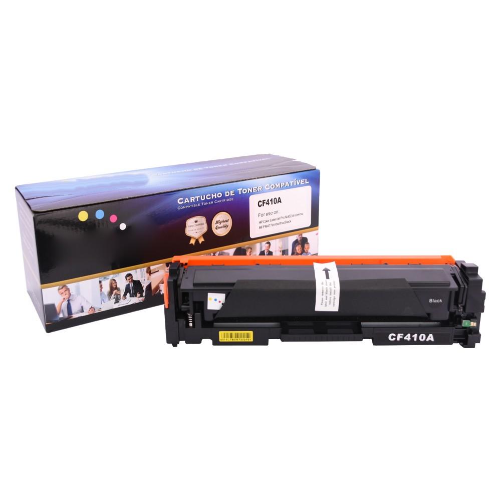 Kit Toner Compatível CF410A 411A 412A 413A M452 M477 4 CORES