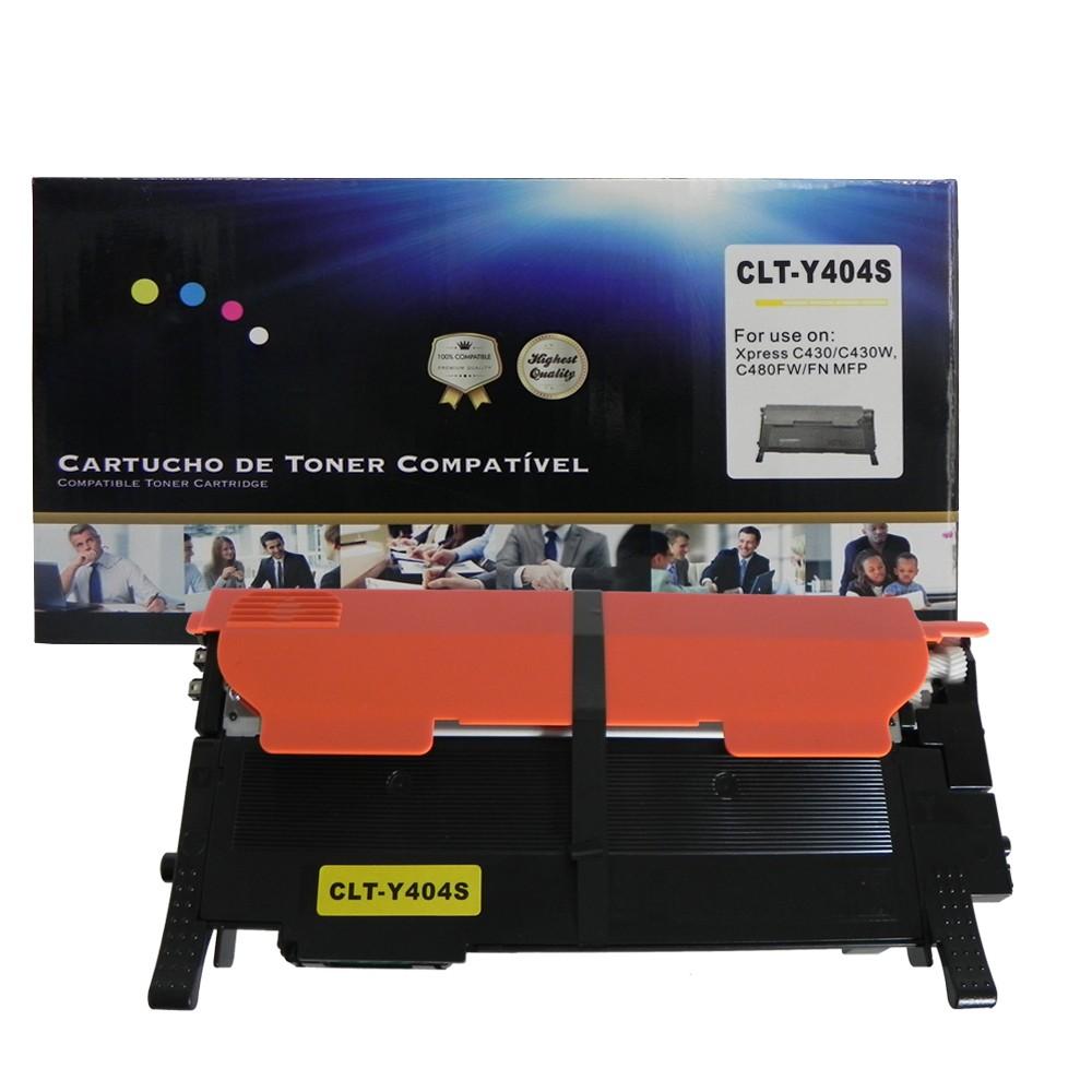 Kit Toner Compatível 404S 4 cores até 1 mil páginas