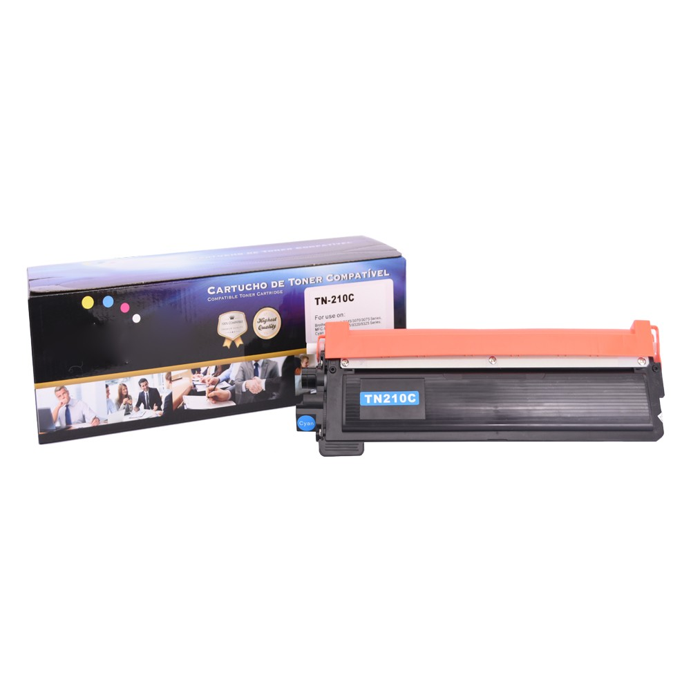 Kit Toner Compatível TN210 HL3040 MFC9010 Preto e Coloridos até 2,2 mil páginas