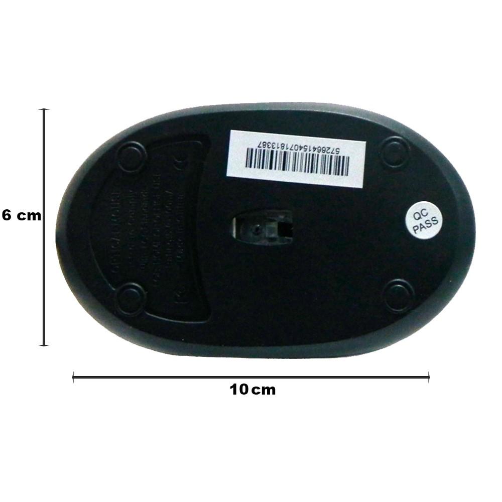 Mouse Usb com Fio Óptico 3 botões Mymax