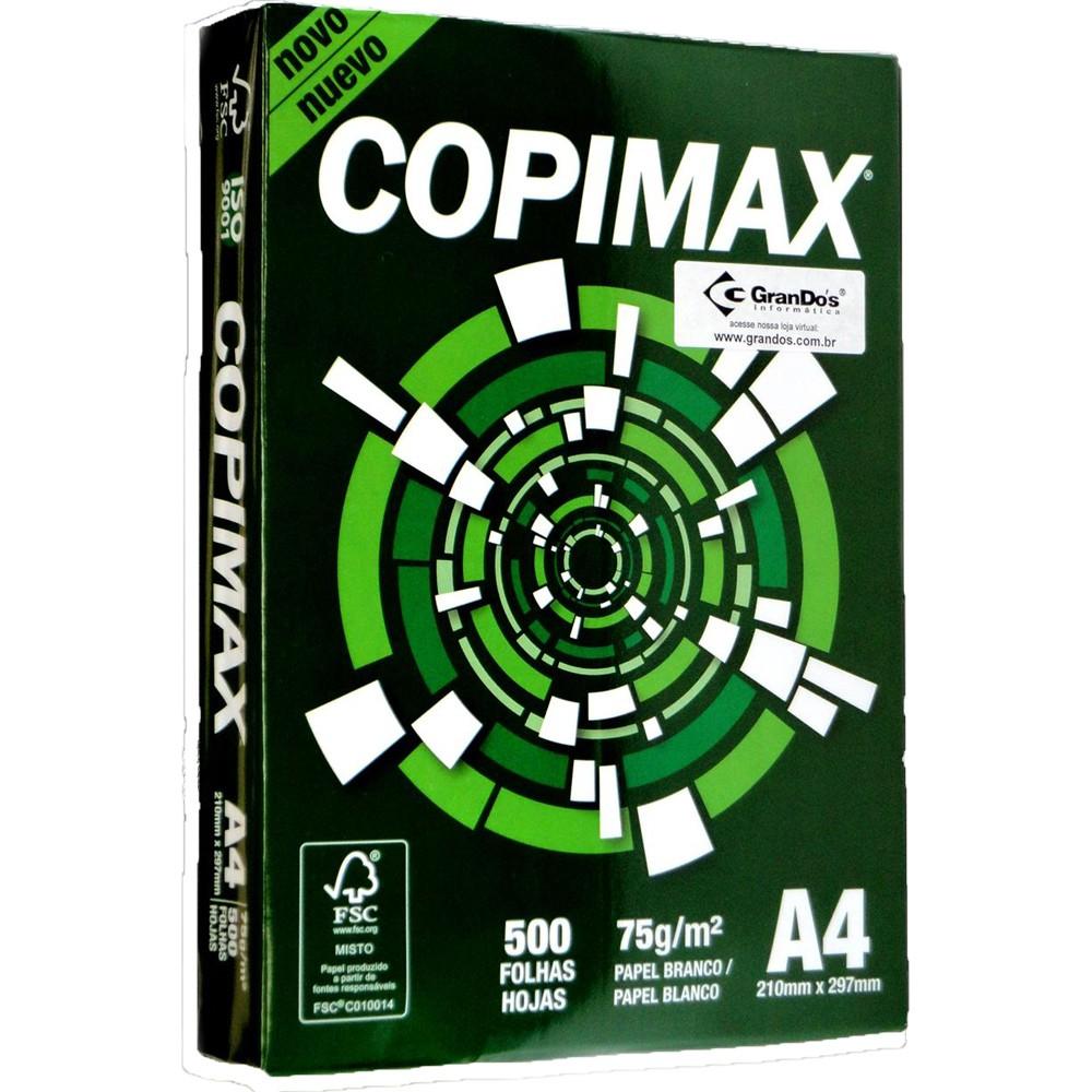 Papel Sulfite A4 Copimax c/ 5000 folhas