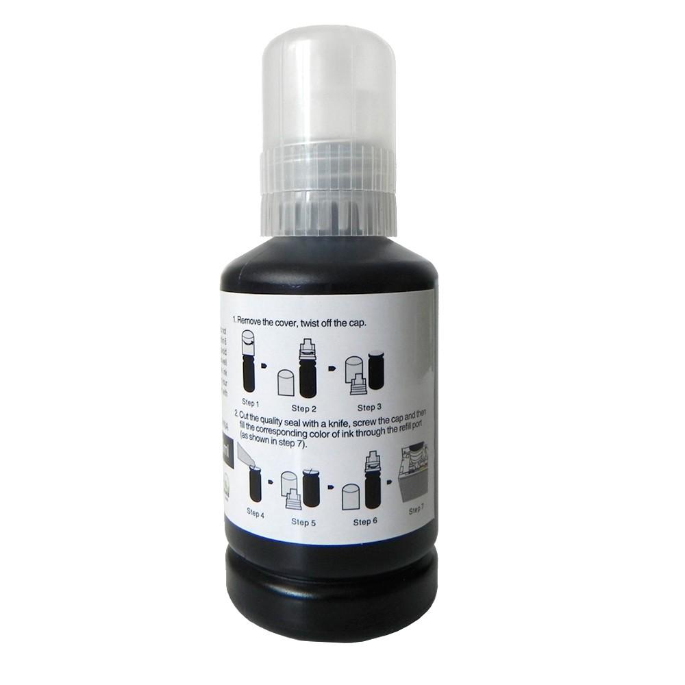Refil de Tinta T504120 Bulk Ink L4150, L4160, L6171 Preto 7500 páginas