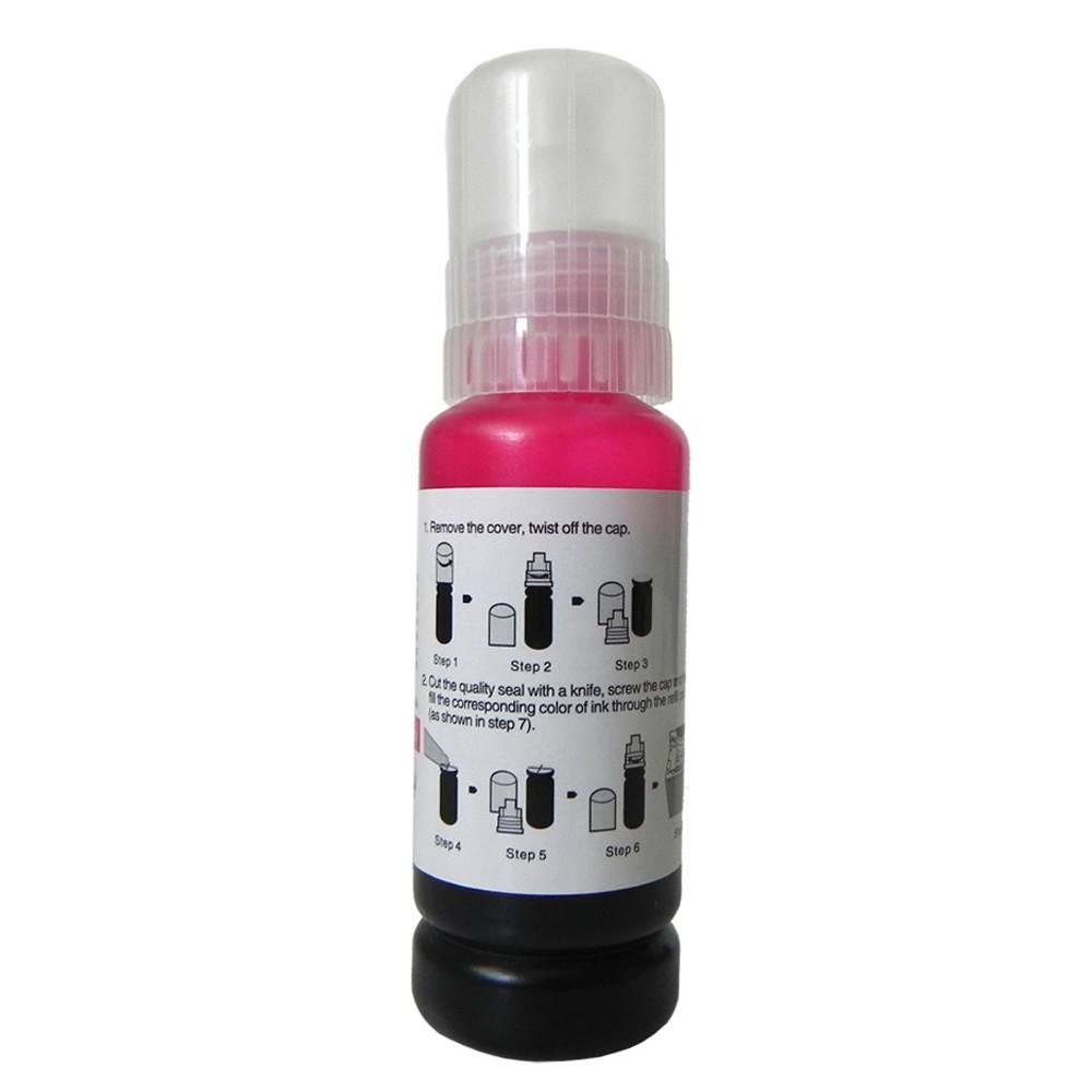 Refil de Tinta T504320  Bulk Ink L4150, L4160, L6171, L6161 e L6191 Magenta 6000 páginas