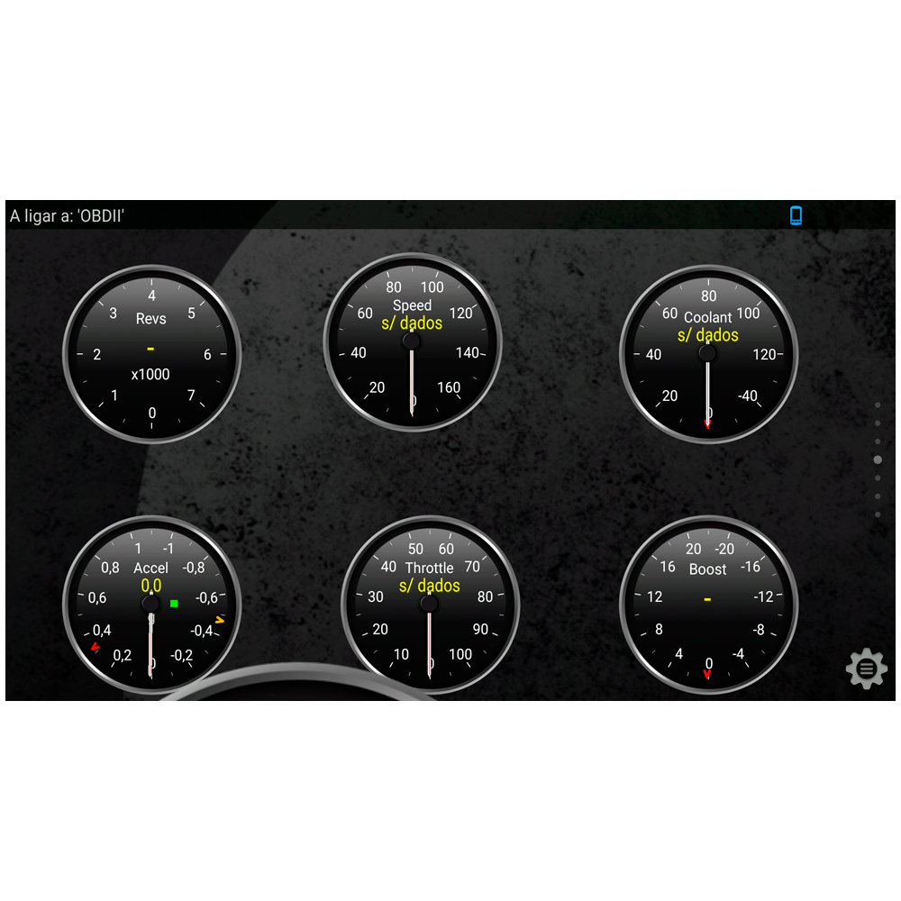 Scanner Bluetooth Automotivo Elm327 para celular Android