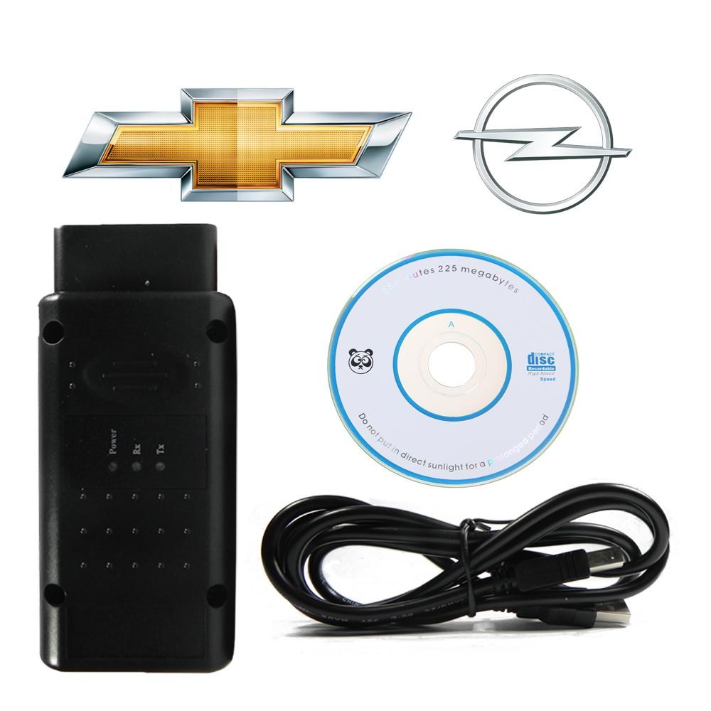 Scanner Opcom Obd2 Automotivo USB v1.70 para GM Chevrolet