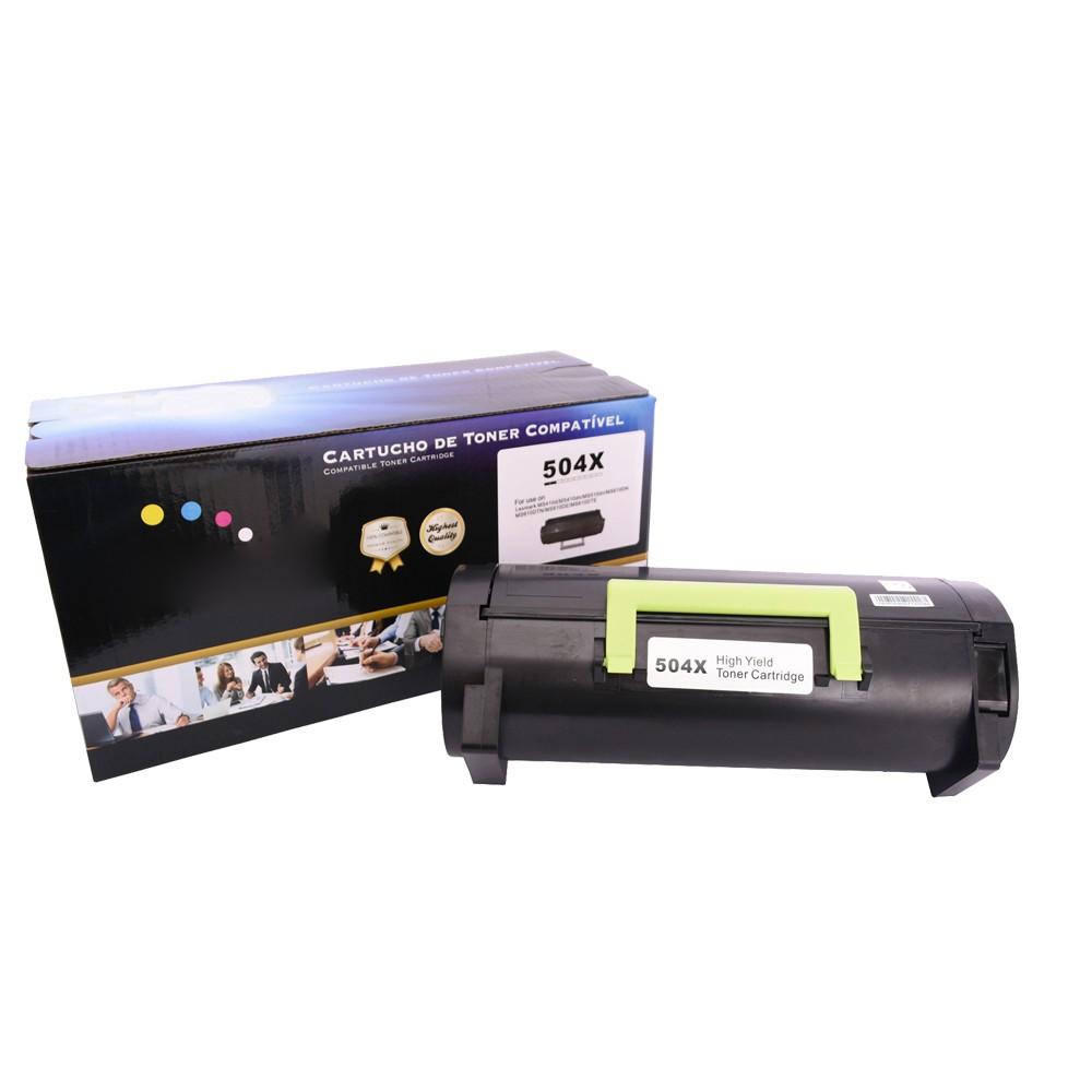 Toner Compatível 504X 50F4X00 50FBX00 MS410 MS415 Preto 10 mil páginas
