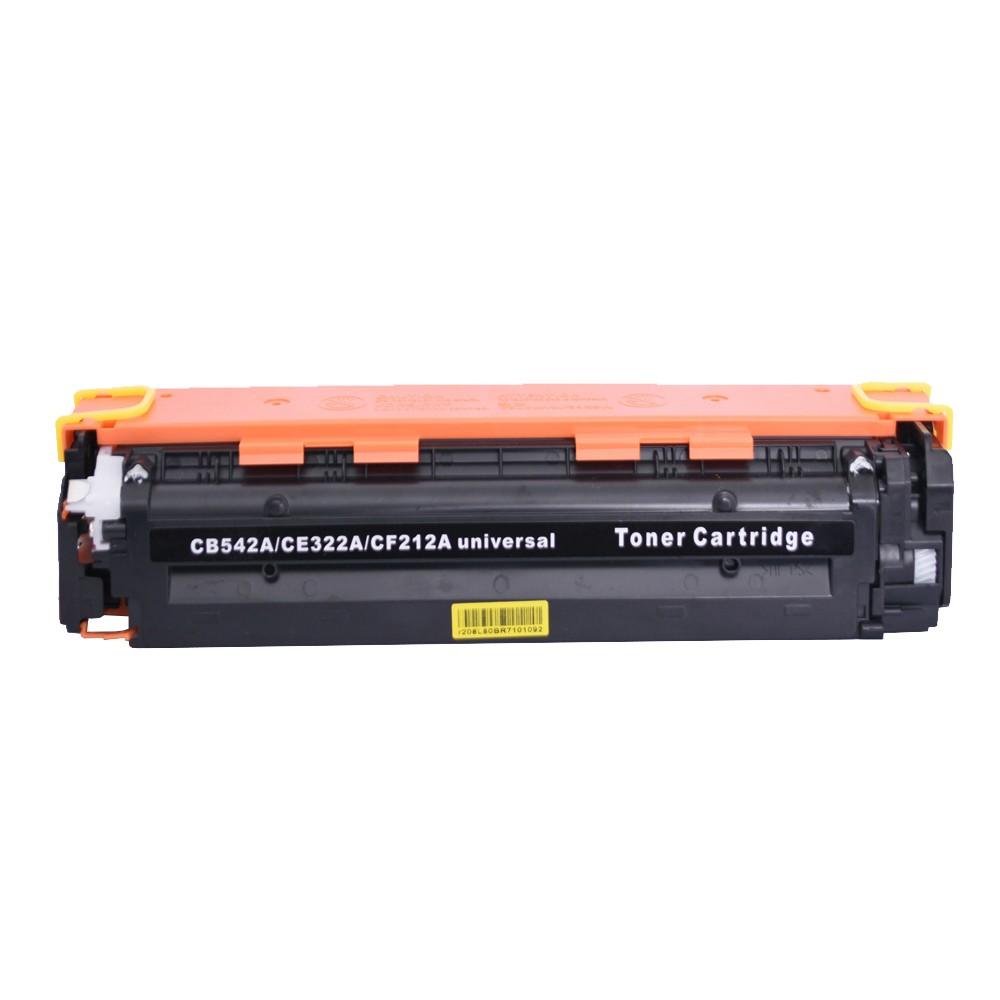 Toner Compatível CB542A CF22A Amarelo 1,8 mil páginas