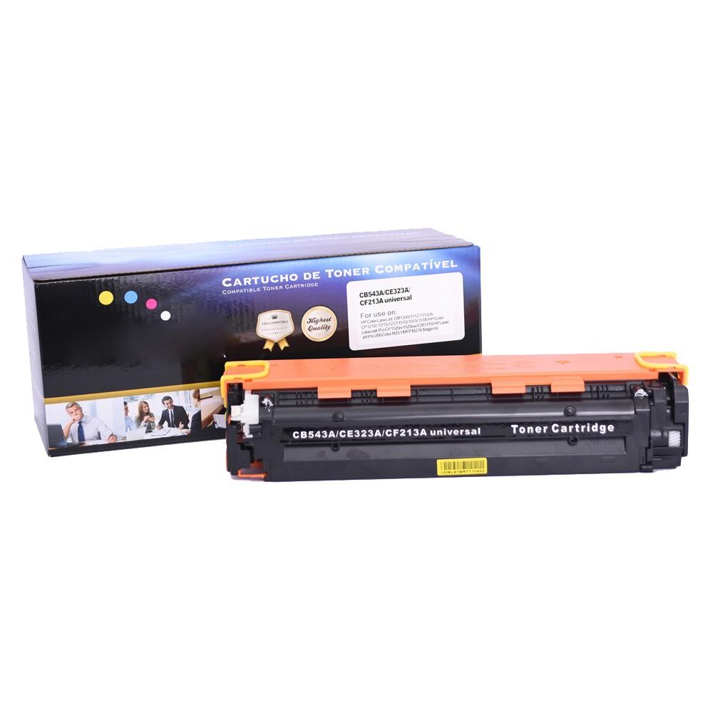 Toner Compatível CE323A CB543A CF23A CP1515n M251nw Magenta 1,8 mil páginas