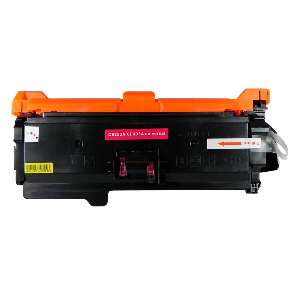 Toner Compatível CE253A CE403A CP3525 CM3530 Magenta 7 mil páginas