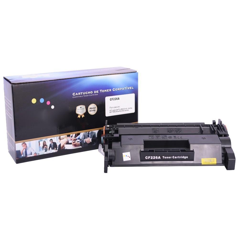Toner Compatível CF226A Preto 3,1 mil páginas