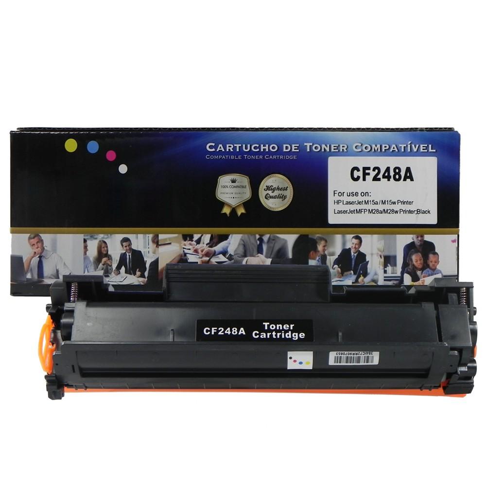 Toner Compatível CF248A PRO M15 M28 Preto 1 mil páginas