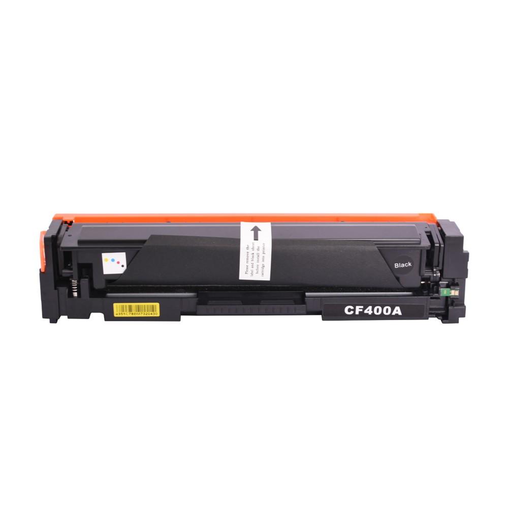 Toner Compatível CF400A Preto 1,5 mil páginas