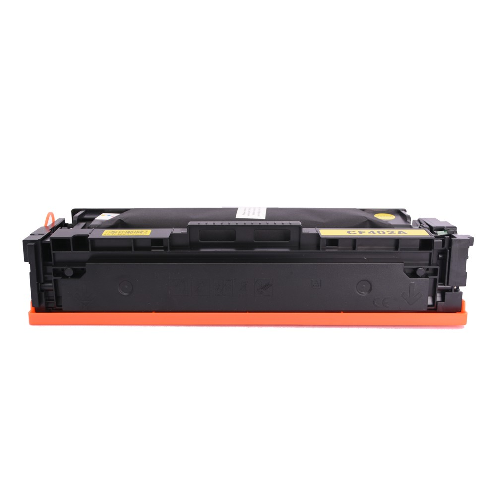 Toner Compatível CF402A Amarelo 1,4 mil páginas
