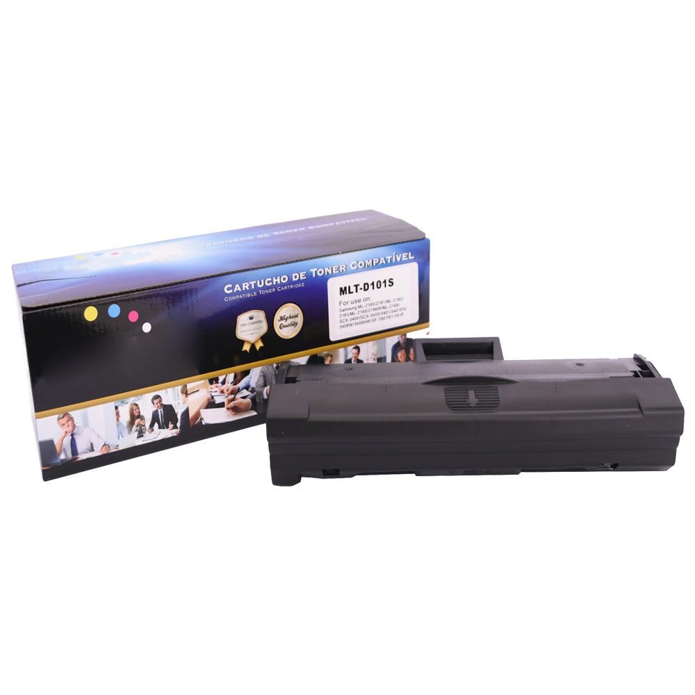 Toner Compatível D101S ML-2160 SCX-3401 Preto 1,5 mil paginas