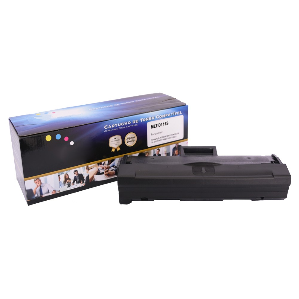 Toner Compatível D111S M2020W M2022 Preto 1 mil paginas