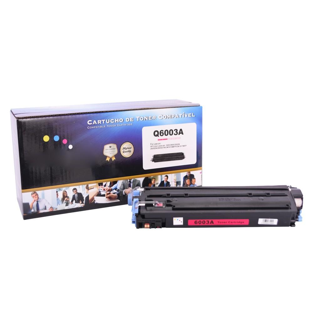 Toner Compatível Q6003A 2600 CM1015 Magenta 2 mil páginas