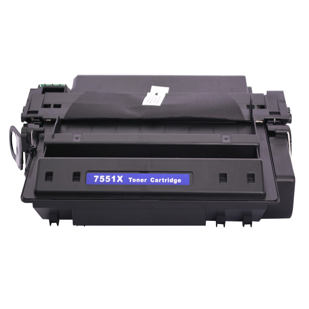 Toner Compatível 7551X P3005 M3027MFP 3035MFP Preto 13 mil páginas