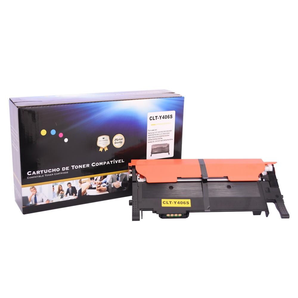 Toner Compatível Y406 362 365W Amarelo 1 mil páginas