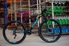 Bicicleta Aro 29 Mtb Athor Android Alumínio 21v Laranja
