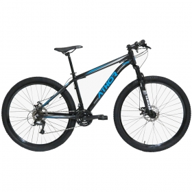 Bicicleta Aro 29 Mtb Athor Titan Alumínio 21v Azul