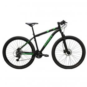 Bicicleta Aro 29 Mtb Athor Ultimate 24v Preto Verde