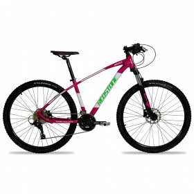 Bicicleta Aro 29 Mtb Redstone Aquila Alumínio 27v Rosa