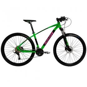 Bicicleta Aro 29 Mtb Redstone Aquila Alumínio 27v Verde